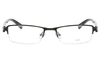 EFASHION E1191 Stainless Steel/ZYL Unisex Semi-rimless Square Optical Glasses