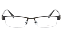 EFASHION E1193 Stainless Steel/ZYL Unisex Semi-rimless Square Optical Glasses