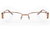 ZB017 Female Semi-rimless Square Optical Glasses