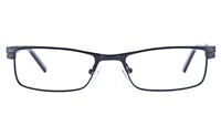 Vista First 1622 Stainless Steel/ZYL  Mens Square Full Rim Optical Glasses
