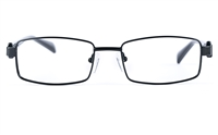 Poesia 6634 Unisex Rectangle Full Rim Optical Glasses