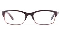 Vista Sport 0901 Stainless Steel/ZYL  Unisex Oval Full Rim Optical Glasses